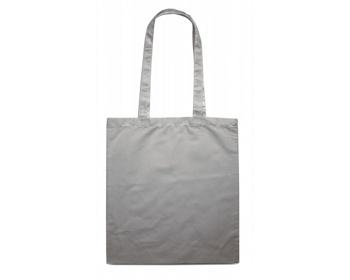 Náhled produktu Bavlněná nákupní taška BLAMING s dlouhými popruhy - šedá