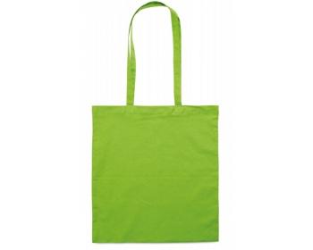 Náhled produktu Bavlněná nákupní taška BLAMING s dlouhými popruhy - limetková