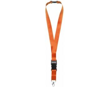 Náhled produktu Lanyard EDUCT s odpojitelnou přezkou - oranžová