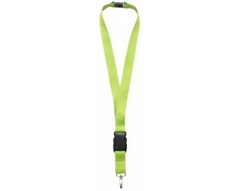 Náhled produktu Lanyard EDUCT s odpojitelnou přezkou - světle zelená