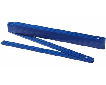Náhled produktu Skládací oboustranný metr PINTS, délka 2 m - královská modrá