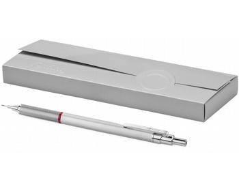 Náhled produktu Značková mikrotužka Rotring BASSO v dárkovém balení - stříbrná