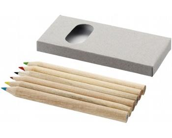 Náhled produktu Sada pastelek LOSES, 6 ks v papírové krabičce - světle šedá