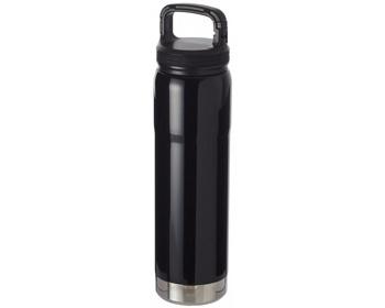 Náhled produktu Nerezová vakuová láhev QUITE pro studené i teplé nápoje,  750 ml - černá