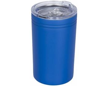 Náhled produktu Nerezový termohrnek QUOAD s vakuovou izolací, 330 ml - královská modrá
