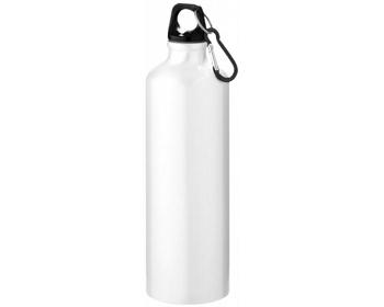 Náhled produktu Hliníková láhev na pití WREN s karabinkou, 770 ml - bílá