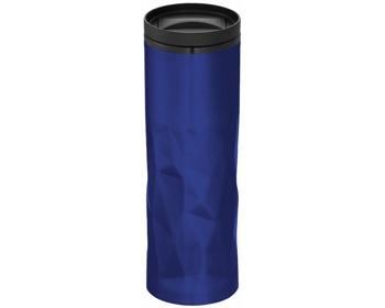 Náhled produktu Termoska se zmačkaným vzhledem NODUS, 450 ml - královská modrá