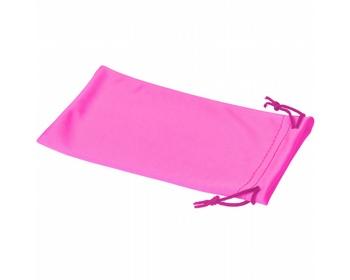 Náhled produktu Polyesterový sáček na sluneční brýle INTERNE - neonově růžová