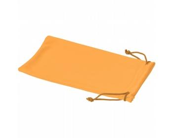 Náhled produktu Polyesterový sáček na sluneční brýle INTERNE - neonově oranžová