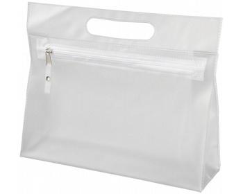 Náhled produktu Toaletní taška AVIUM z průhledného PVC - bílá