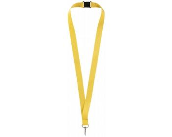 Náhled produktu Lanyard pro zavěšení jmenovky nebo ID karty ROAMS - žlutá
