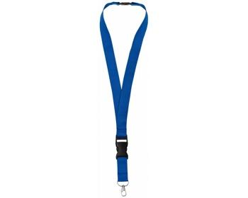 Náhled produktu Lanyard EDUCT s odpojitelnou přezkou - královská modrá