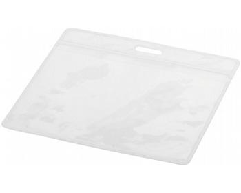 Náhled produktu Plastová visačka na jmenovku IDENTI - transparentní čirá