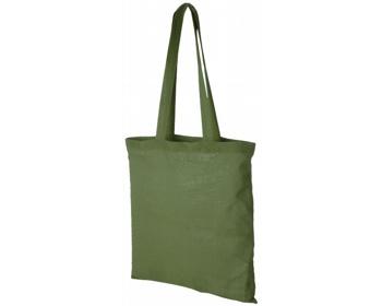 Náhled produktu Bavlněná nákupní taška RHINE - tmavě zelená