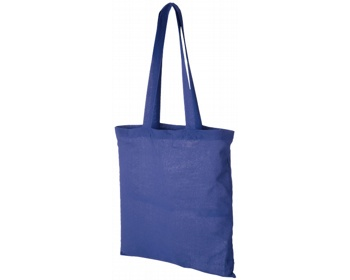 Náhled produktu Bavlněná nákupní taška RHINE - královská modrá