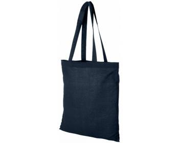Náhled produktu Bavlněná nákupní taška RHINE - námořní modrá