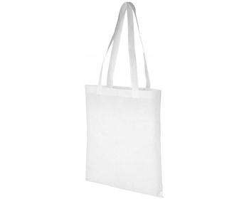 Náhled produktu Netkaná recyklovatelná kongresová taška GAWK - bílá