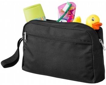 Náhled produktu Cestovní toaletní taška UNDID s popruhem - černá