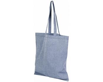 Náhled produktu Bavlněná nákupní taška SHOER s dlouhými uchy - královská modrá