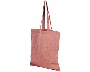 Náhled produktu Bavlněná nákupní taška SHOER s dlouhými uchy - červená