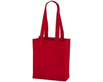 Náhled produktu Netkaná nákupní taška SCARY s dlouhými uchy - červená