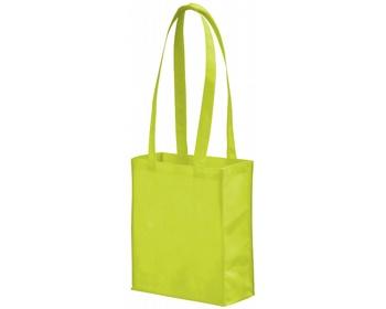 Náhled produktu Netkaná nákupní taška SCARY s dlouhými uchy - jemně zelená
