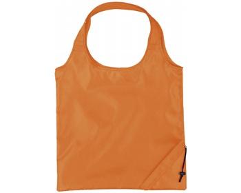 Náhled produktu Polyesterová skládací nákupní taška GREED - oranžová