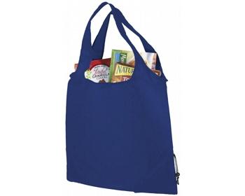 Náhled produktu Polyesterová skládací nákupní taška GREED - královská modrá