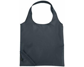 Náhled produktu Polyesterová skládací nákupní taška GREED - šedá