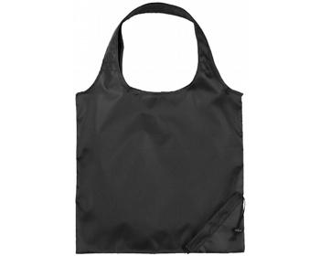 Náhled produktu Polyesterová skládací nákupní taška GREED - černá