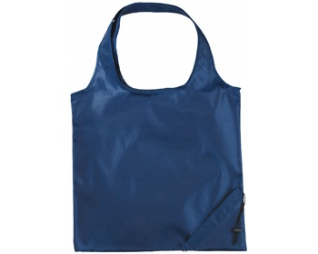 Náhled produktu Polyesterová skládací nákupní taška GREED - námořní modrá
