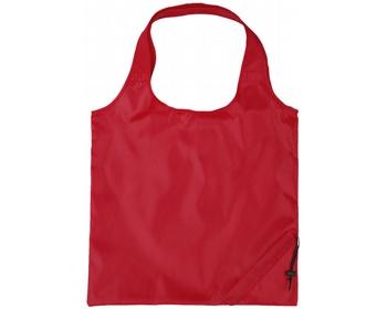 Náhled produktu Polyesterová skládací nákupní taška GREED - červená