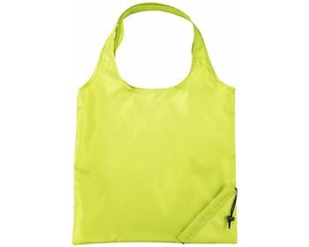 Náhled produktu Polyesterová skládací nákupní taška GREED - jemně zelená