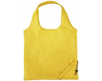 Náhled produktu Polyesterová skládací nákupní taška GREED - žlutá