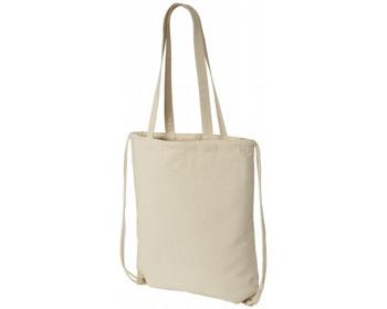 Náhled produktu Bavlněná multifunkční taška a batoh VOID, 2v1 - přírodní