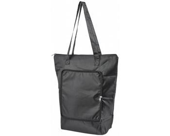 Náhled produktu Skládací chladicí taška BONER s dlouhými ramenními popruhy - černá