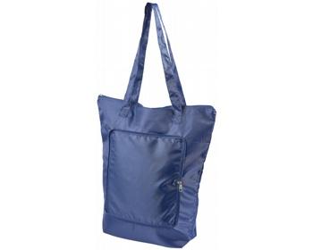 Náhled produktu Skládací chladicí taška BONER s dlouhými ramenními popruhy - námořní modrá