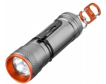 Náhled produktu Hliníková super jasná LED svítilna Elevate WEYBURN se 4 režimy svícení - šedá