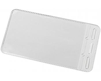 Náhled produktu Plastové pouzdro OCHER na jmenovku - transparentní čirá