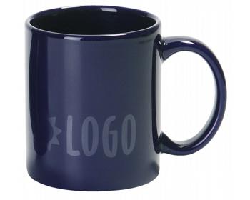 Náhled produktu Keramický hrnek MUG, 320 ml - modrá