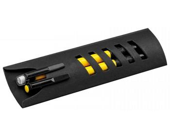 Náhled produktu Sada kuličkového pera a mikrotužky CORPEN v papírové krabičce - žlutá