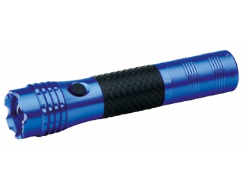 Náhled produktu Kovová LED svítilna IMORT s konektorem do autozapalovače - modrá