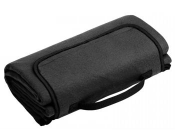 Náhled produktu Skládací fleecová cestovní deka na piknik PAT - černá