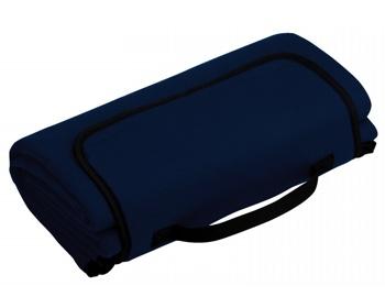 Náhled produktu Skládací fleecová cestovní deka na piknik PAT - modrá