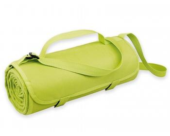 Náhled produktu Fleecová cestovní deka FLEECE s voděodolnou úpravou - světle zelená