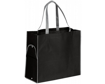 Náhled produktu Skládací nákupní taška PERTINA - černá