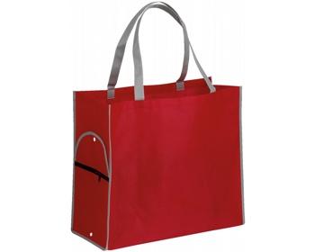 Náhled produktu Skládací nákupní taška PERTINA - červená