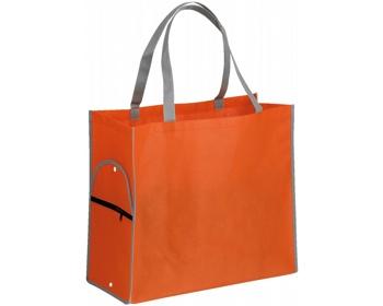 Náhled produktu Skládací nákupní taška PERTINA - fluorescenční oranžová