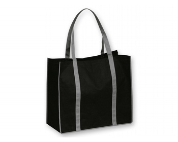 Náhled produktu Netkaná nákupní taška VITELA - černá