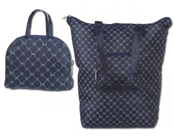 Náhled produktu Skládací taška přes rameno Santini EMPORIA - modrá